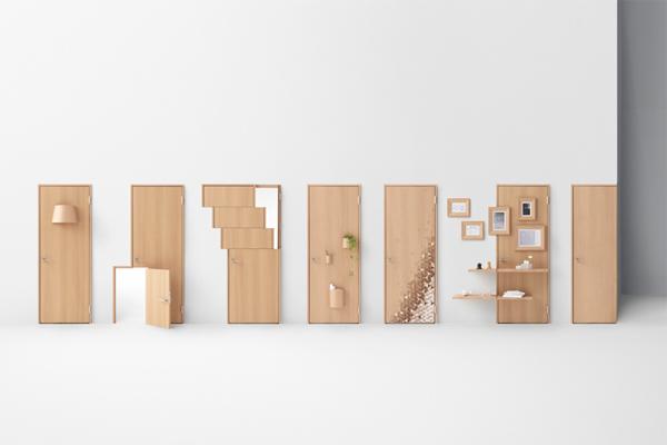Seven Doors by nendo