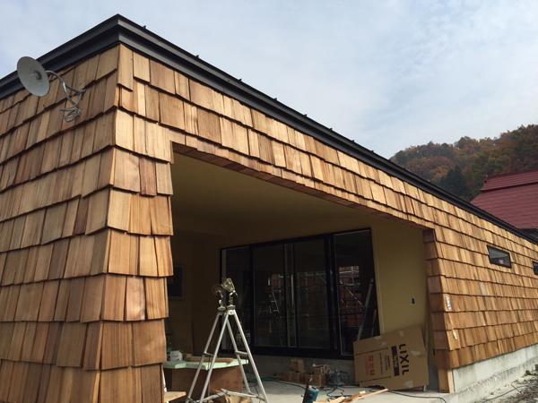 チャネル 木製外壁1