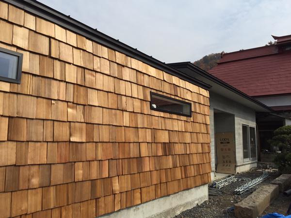 チャネル 木製外壁2